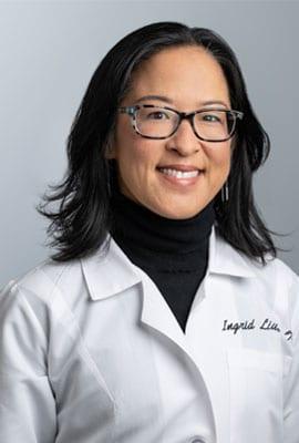 Dr. Ingrid Liu headshot